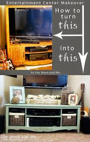 decorating furniture ideas. Home Decorating Ideas For Cheap DIY Furniture Hacks | Entertainment Center Into A TV Console Table Cool \u2026