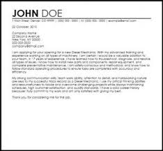 Brilliant Ideas Of Best Entry Level Mechanic Cover Letter Examples