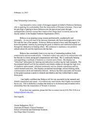 Recommendation Letter Template Scholarship Sample Resume Service