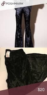 black velvet bell bottoms