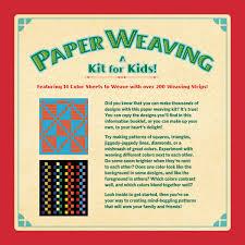 Based On I Paper Weaving For Little Folks I Sam L Gabriel Sons