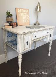 white furniture shabby chic. Shabby Chic Antique White Desk - Painted Furniture Collection Denver, Colorado