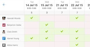 Scheduel Maker Doodle Schedule Maker Gets A Redesign Built In Chat Feature