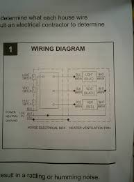 Exhaust Fan With Light Wiring Diagram How To Wire A Vent Fan And Light Pogot Bietthunghiduong Co