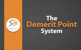 Demerit Point System Ontario