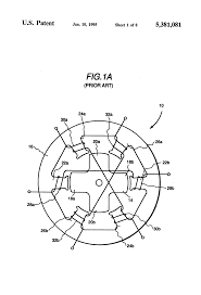 Patent us5381081 switched reluctance generator for generating ac drawing coil diagram schematic and wiring power
