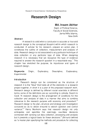Qualitative Research Design Types With Examples Pdf Research Design