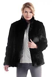 black mink favorite faux fur jacket 1