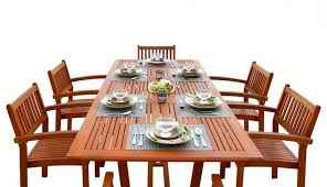 chairs for white reclaimed wood plans dining acacia round seats chair bench table set patio sets