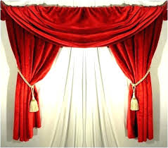 blue valances swag kitchen curtains valance bright red swags and valley yellow bl royal single sheet