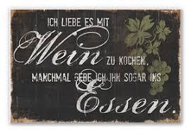 Details Zu Hartschaum Wandbild Deko Sprüche Wein Küche Esszimmer Genuss Lustig