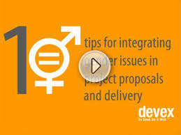 Project Proposals Adorable 48 Tips For Integrating Gender Issues In Project Proposals And