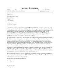 Successful Cover Letter Project Manager Cover Letter Sample For