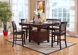 pub height dining room furniture. kaylee counter height dining table and 4 side chairs | lexington overstock warehouse pub room furniture