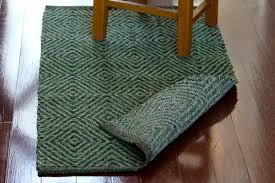 diamond twill rag rug