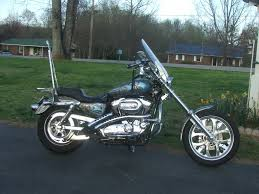 whats the skinny on raked triple trees the sportster and buell