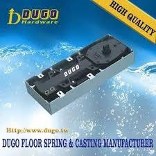 dugo d 65 high quality 125kg door weight tempered glass door floor hinge in door closers