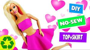 how to make barbie clothes no sew no glue doll clothes simplekidscrafts you