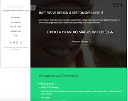 theme. One Page Scroll - Free Wordpress Themes Collection Theme E