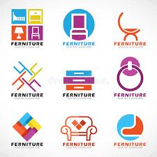 furniture logo. Plain Furniture Download Furniture And Decor Modern Logo Vector Set Design Stock   Illustration Of Modern Inside L