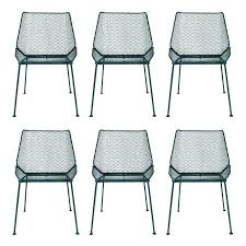 mesh outdoor chairs lovely mesh patio furniture or 6 vintage wire mesh outdoor chairs mesh patio