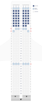 Surprising Airbus A320 100 200 Seat Chart 2019