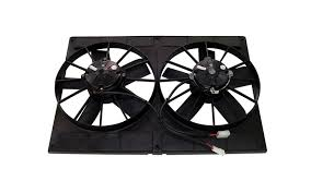 detroit speed inc all products engine cooling spal 11 dual cooling fan