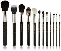 full makeup brush set. amazon.com : bdellium tools professional makeup maestro series complete 12pc. brush set with roll-up pouch tool sets and kits beauty full