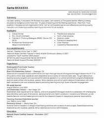 Best Teacher Resume Example | Livecareer with regard to Resume For Teaching  Job In School