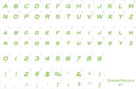 Download Free Font Eyechart