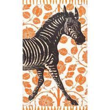 thomas paul flat weave zebra tassel orange 4 ft x 6 ft area rug