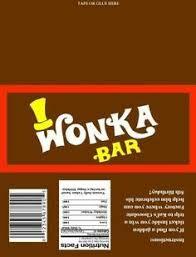wonka chocolate bar wrapper. Perfect Chocolate Willy Wonka Printables  Willy Wonka Golden Ticket Printable On Chocolate Bar Wrapper X
