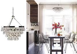 modern glam breakfast nook lighting
