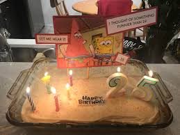 My Local Grocery Store Said They Couldnt Make A Spongebob Cake