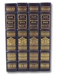 complete works of plato plato complete works 4 volume leatherbound easton press set plato