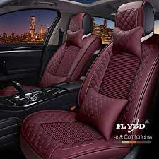 textile leather universal car seat