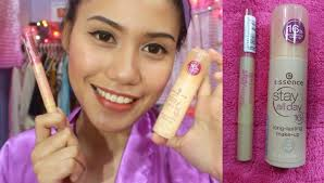 essence 16hrs stay all day foundation stay natural concealer alog review purpleheiress you