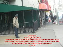 the filth of forest hills skid row starbucks cleans up but forest hills ny patch