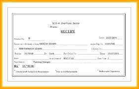 Pay Receipt Template Professional Cash Sample Grocery Format