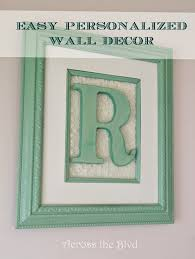single letter monogram wall art with lace on framed monogram letter wall art with single letter monogram wall art with lace across the blvd
