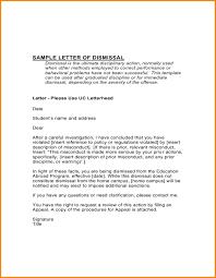 Sample Appeal Letter For College Dismissal Manswikstrom Se