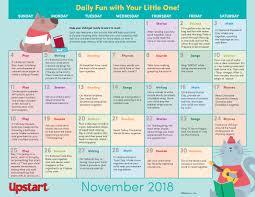 November Through November Calendars Early Literacy Activity Calendar November Books Celebrations And
