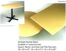 round particle board table round particle board decorator table top inch round particle board table with