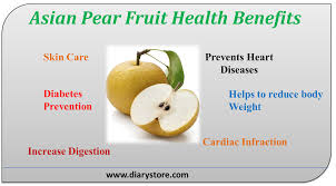 Nutritional value of the asian pear