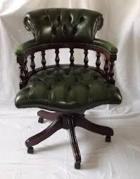 leather swivel office chair. Victorian Style Leather Swivel Office Chair ,