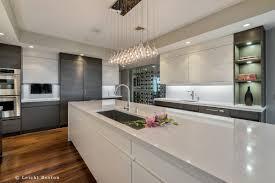 Kitchen Over Cabinet Lighting Legacy Torino Cherry Mocha Cabinets Golden Harvest 2cm Quartz