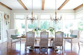 chandelier over table rustic modern dining room farmhouse dining room chandelier over table