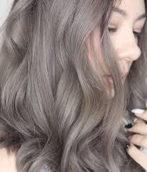 Ash Gray Hair Brown Hair Colors Hair Color Hair Styles