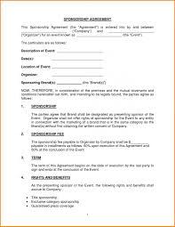 sponsorship agreement sponsor agreement complete guide example event sponsorship