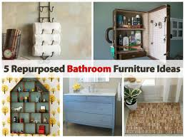 furniture repurpose ideas. Repurposed Bathroom Furniture Ideas Plumbworld Blog Repurpose